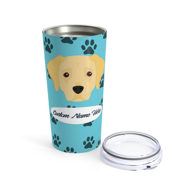 Love My Yellow Labrador Stainless Steel Tumbler