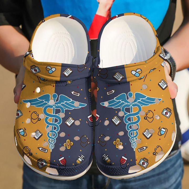 Love Nurse Doctor Crocs Clog Shoes