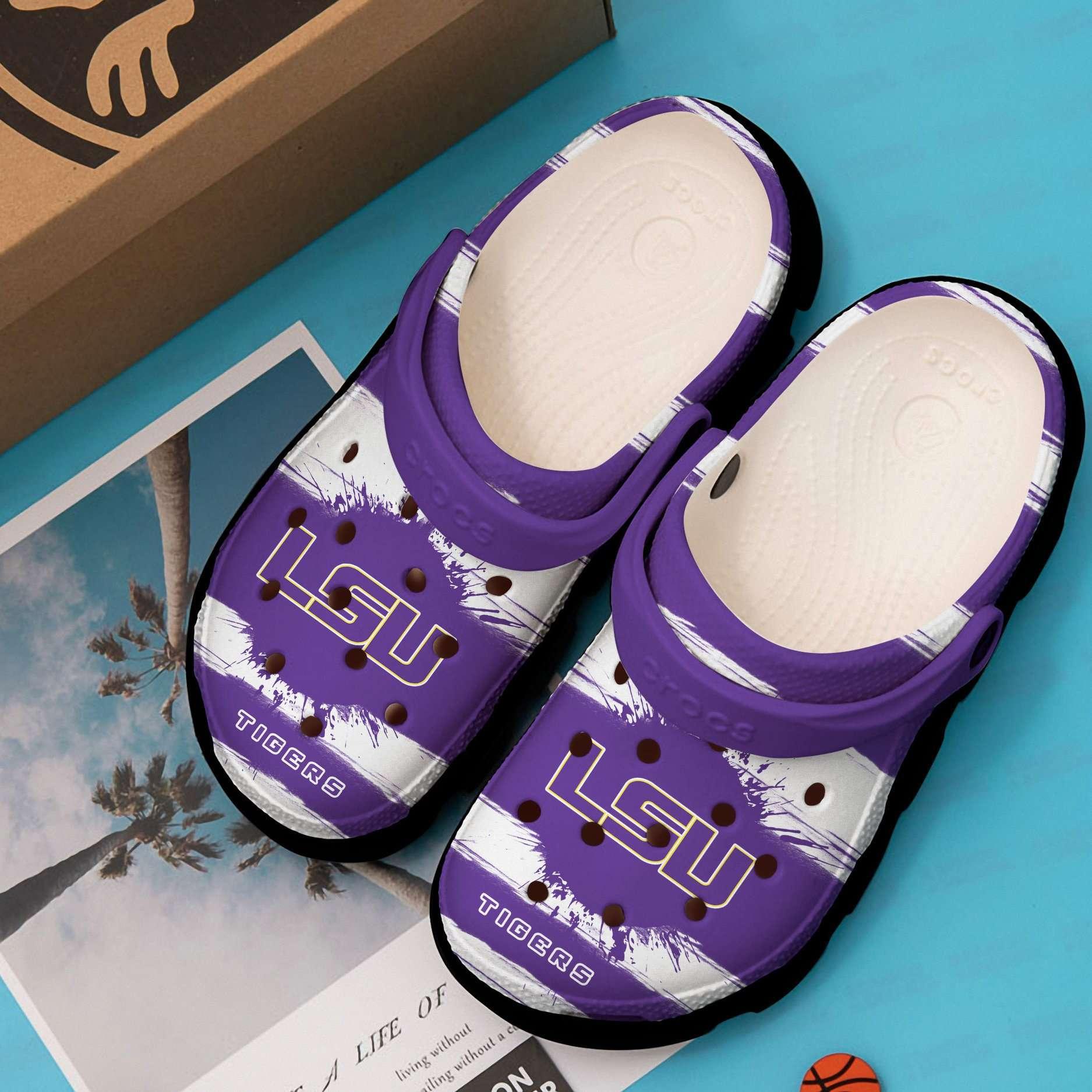 Lsu Tigers Crocs Clog Shoes