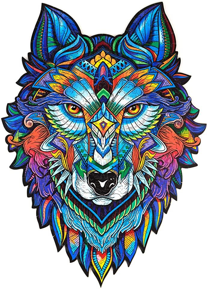 Majestic Wolf Jigsaw Puzzle