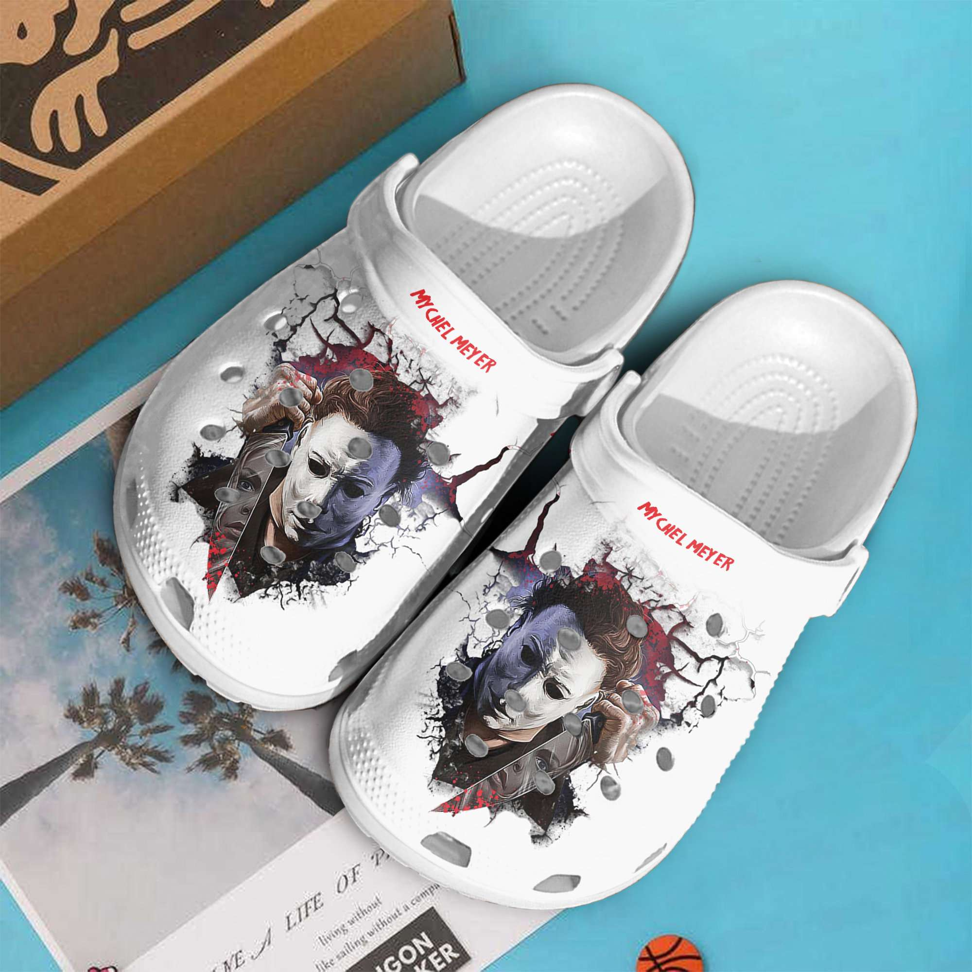 Michael Myers Crocs Clog Shoes