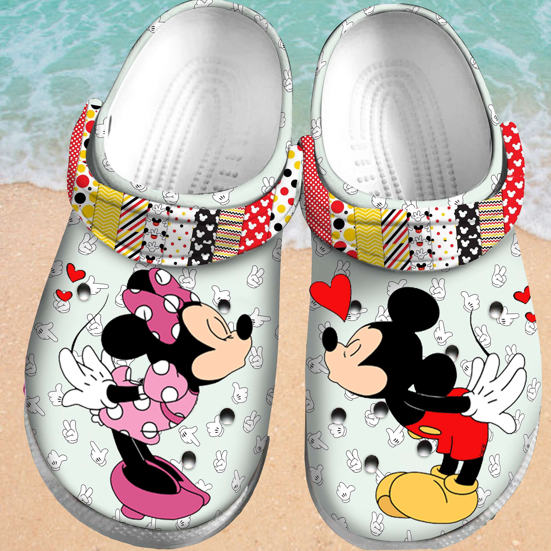 Mickey Crocs Clog Shoes