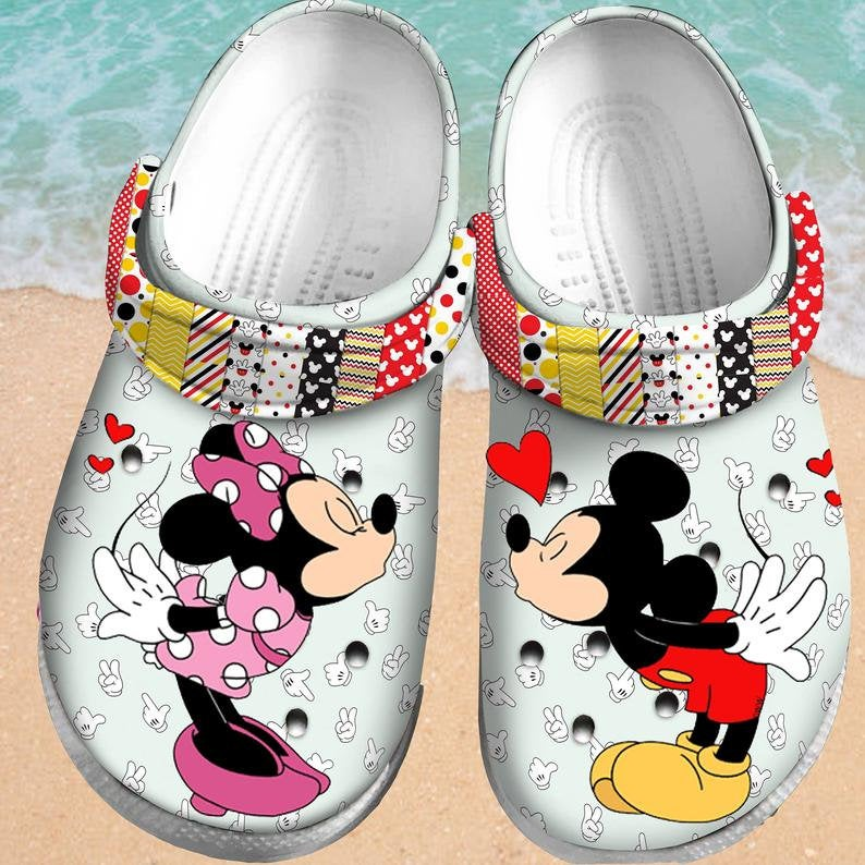 Mickey Mouse 3d Comfortable For Mens And Womens Classic Water Crocs Clog Shoes
