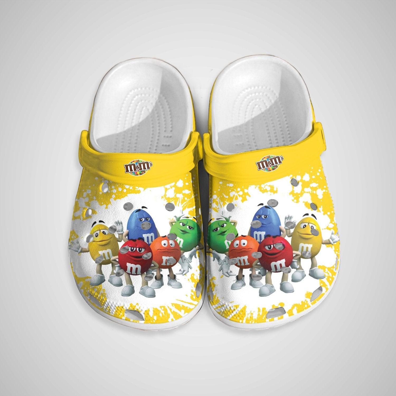 M&m Crocs Clog Shoes