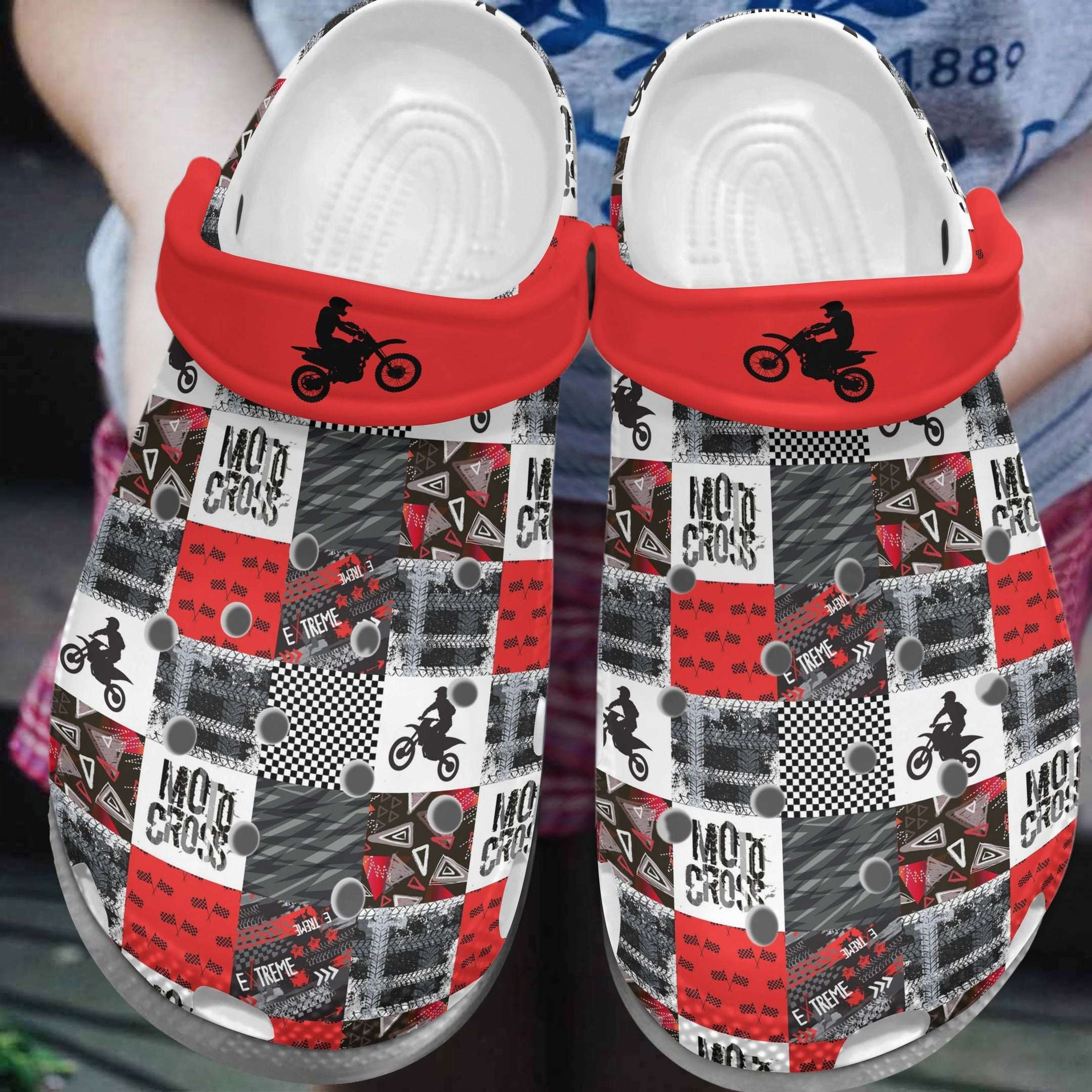 Motocross Lover Crocs Clog Shoes