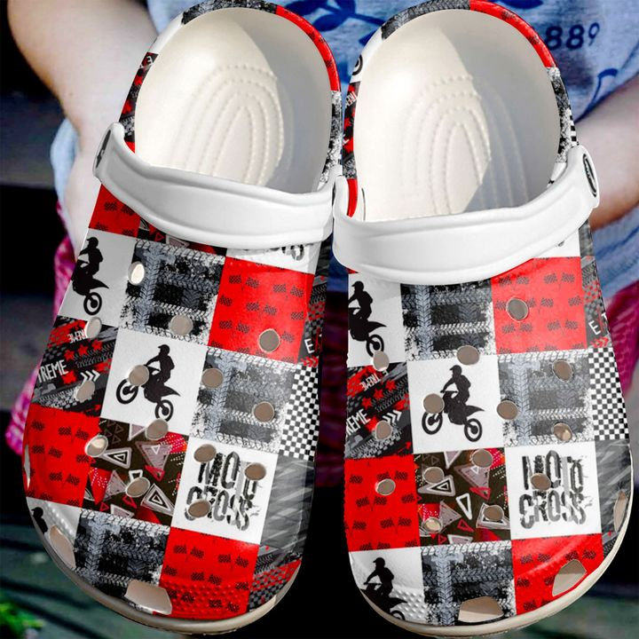 Motorcross Crocs Clog Shoes