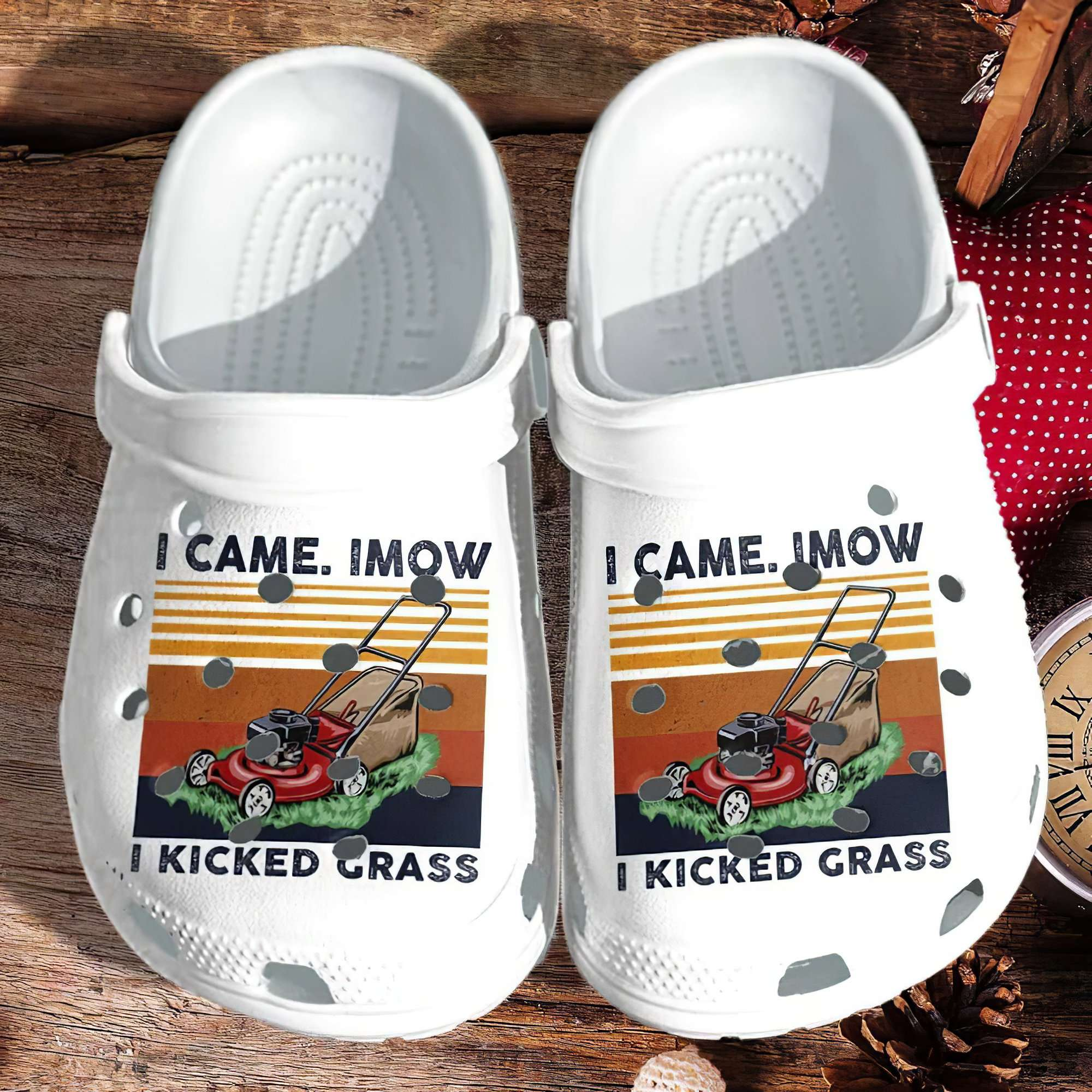 Mower Garden Crocs Clog Shoes