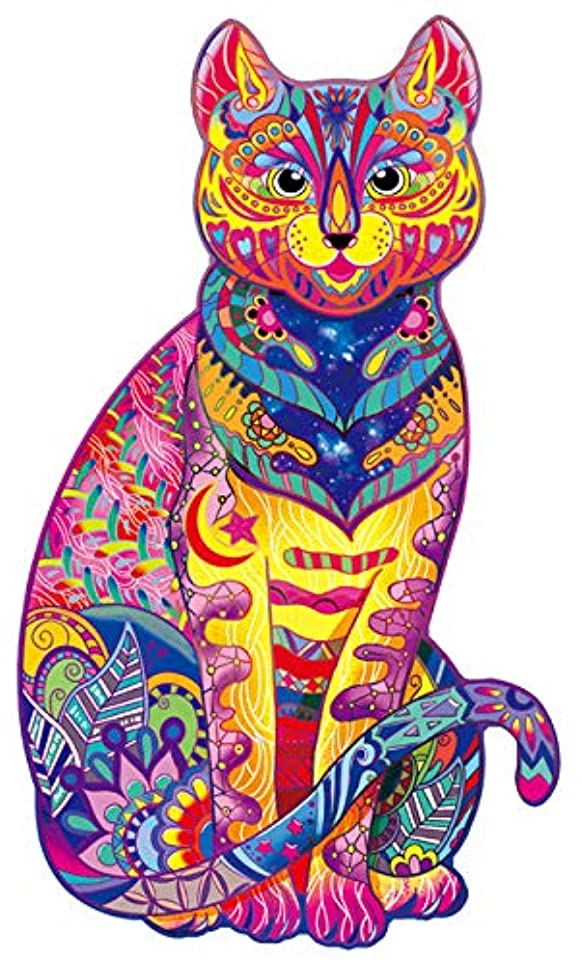 Mysterious Cat Jigsaw Puzzle