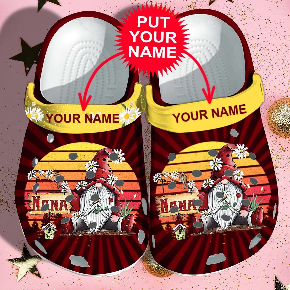 Nana Personalisation Crocs Clog Shoes