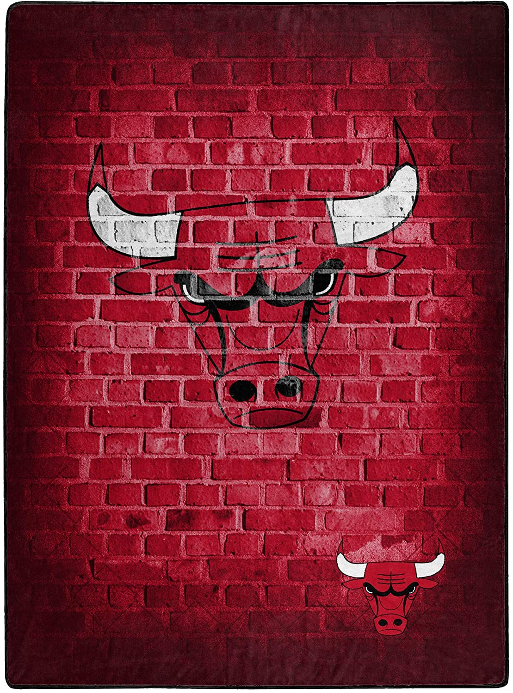 Nba Throw Chicago Bulls Team Fleece Blanket