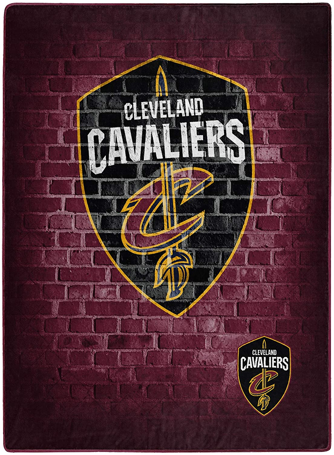 Nba Throw Cleveland Cavaliers Team Fleece Blanket