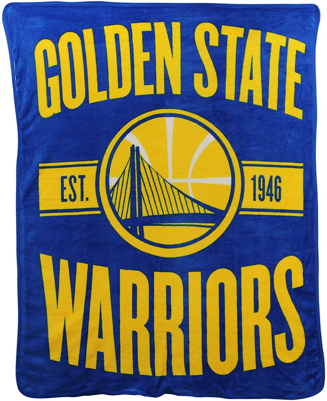 Nba Throw Golden State Warriors Fleece Blanket