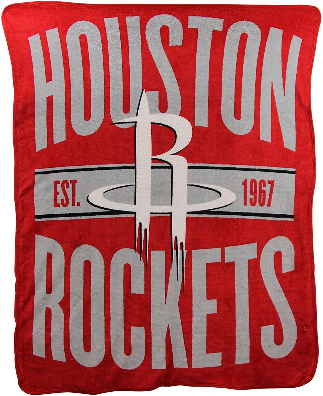 Nba Throw Houston Rockets Fleece Blanket