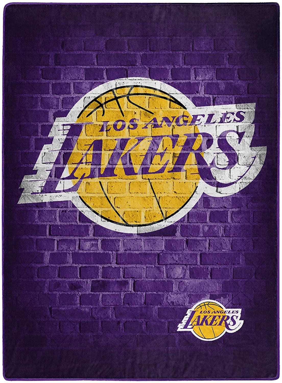 Nba Throw Los Angeles Lakers Team Fleece Blanket
