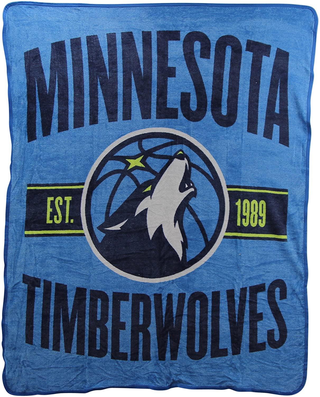 Nba Throw Minnesota Timberwolves Fleece Blanket
