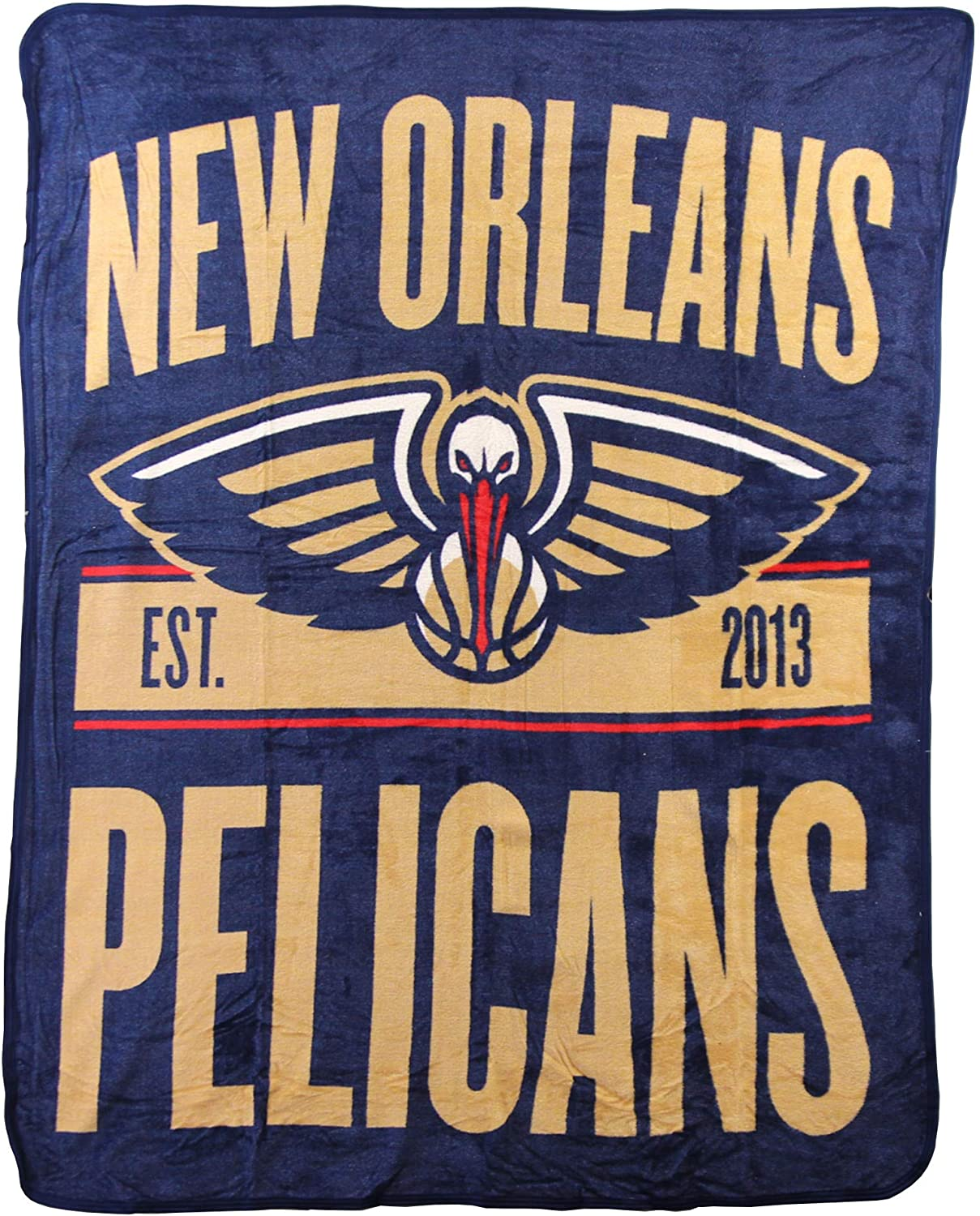 Nba Throw New Orleans Pelicans Fleece Blanket