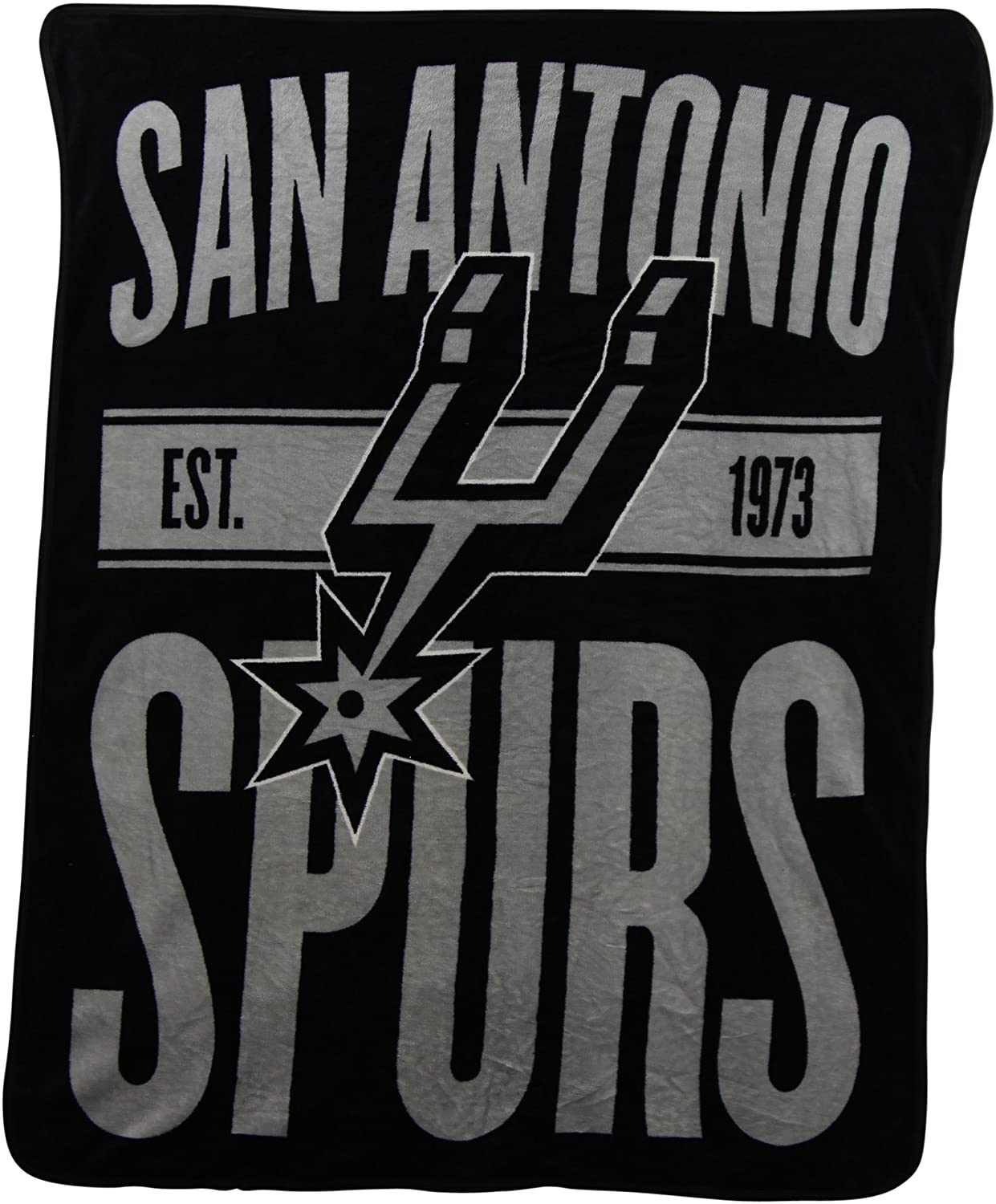 Nba Throw San Antonio Spurs Fleece Blanket