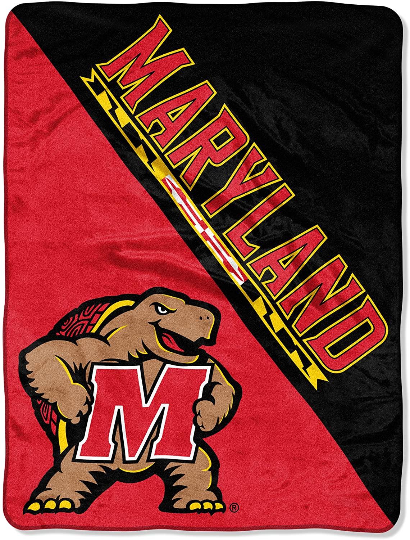 Ncaa Maryland Terps Unisex Fleece Blanket
