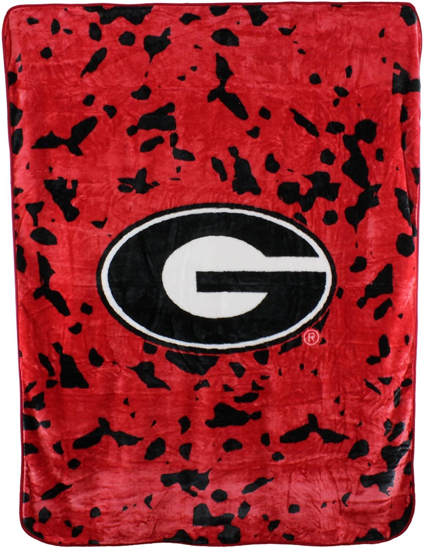 Ncaa Throw Blanket Georgia Bulldogs Fleece Blanket