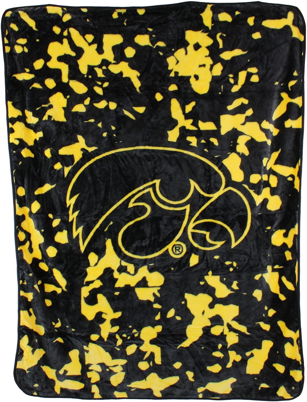 Ncaa Throw Blanket Iowa Hawkeyes Fleece Blanket