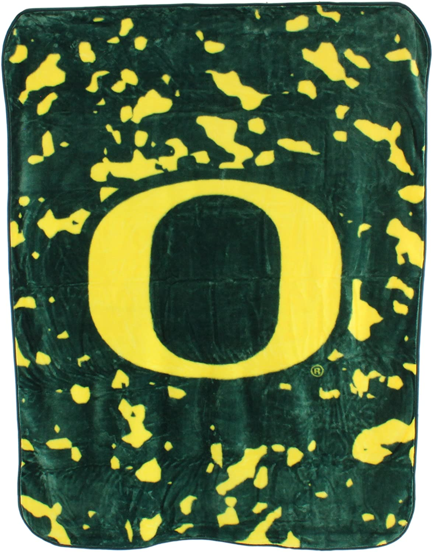 Ncaa Throw Blanket Oregon Ducks Fleece Blanket