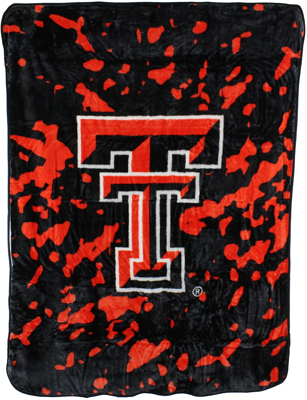 Ncaa Throw Blanket Texas Tech Red Raiders Fleece Blanket