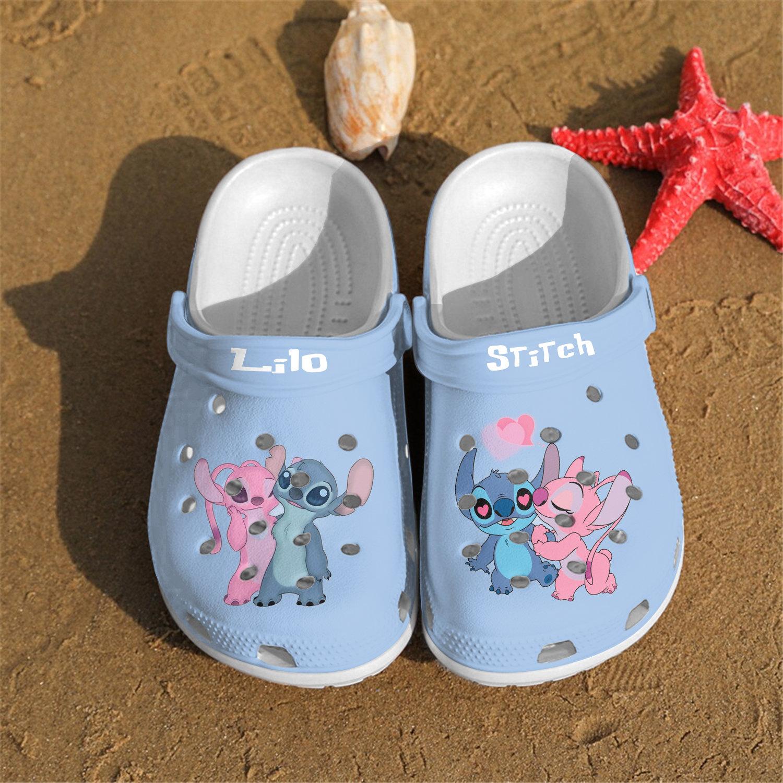 New Lilo Stitch Crocs Clog Shoes