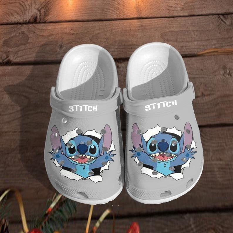 New Stitch Comfortable For Mens And Womens Classic Water Crocs Clog Shoes