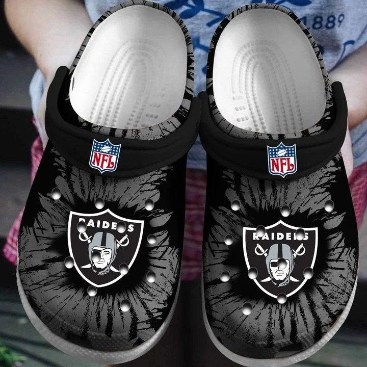 Nfl Raider Crocs Clog Shoes