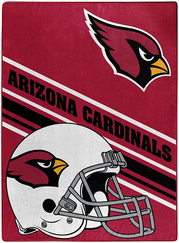 Nfl Team Logo Throw Arizona Cardinals Fleece Blanket