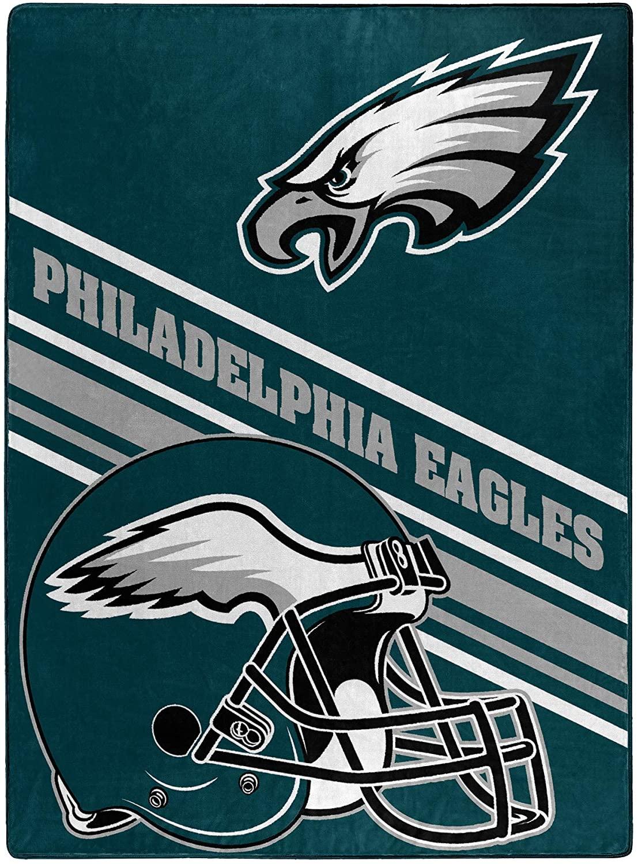Nfl Team Logo Throw Philadelphia Eagles Fleece Blanket