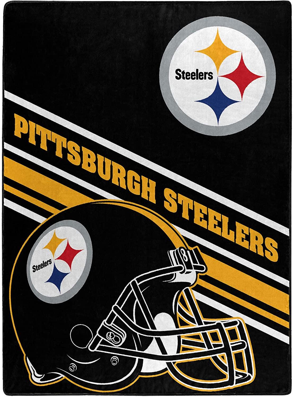 Nfl Team Logo Throw Pittsburgh Steelers Fleece Blanket