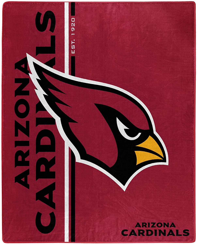 Nfl Throw Arizona Cardinals Team Colors Fleece Blanket