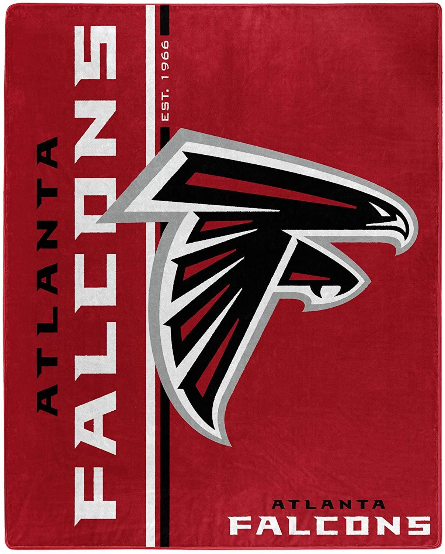 Nfl Throw Atlanta Falcons Team Colors Fleece Blanket