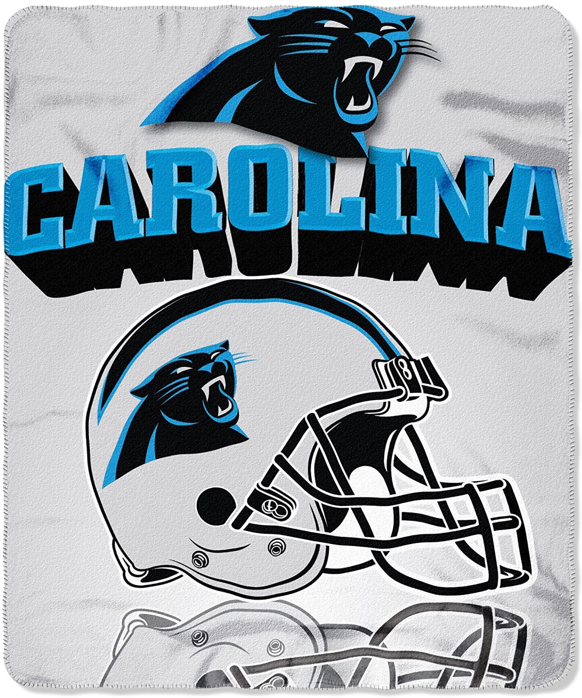 Nfl Throw Carolina Panthers Fleece Blanket