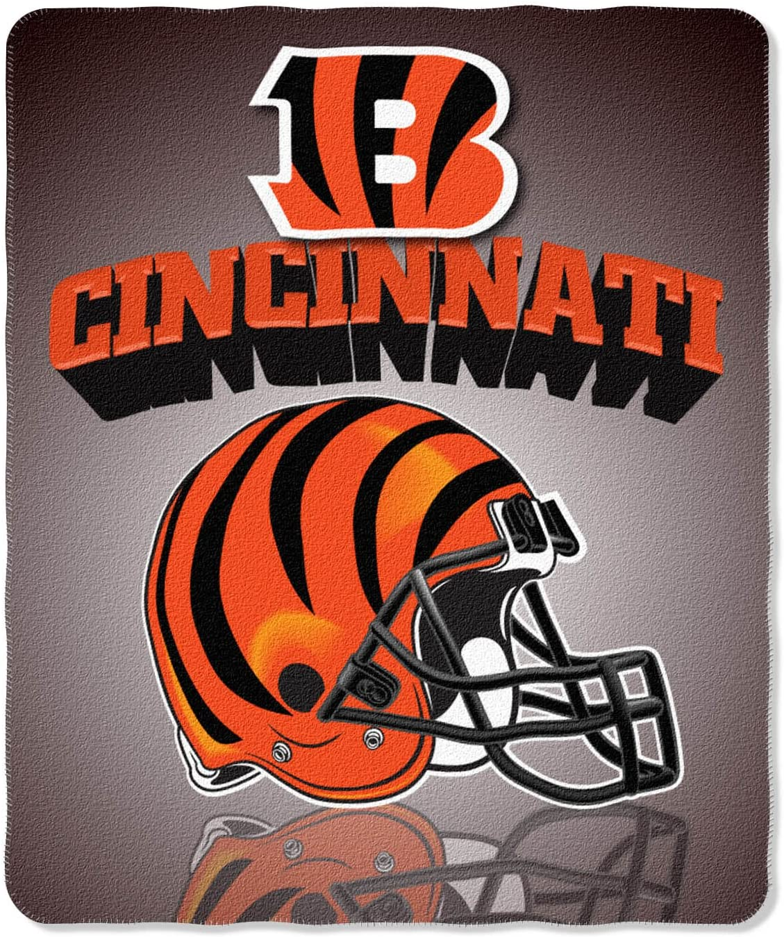 Nfl Throw Cincinnati Bengals Fleece Blanket