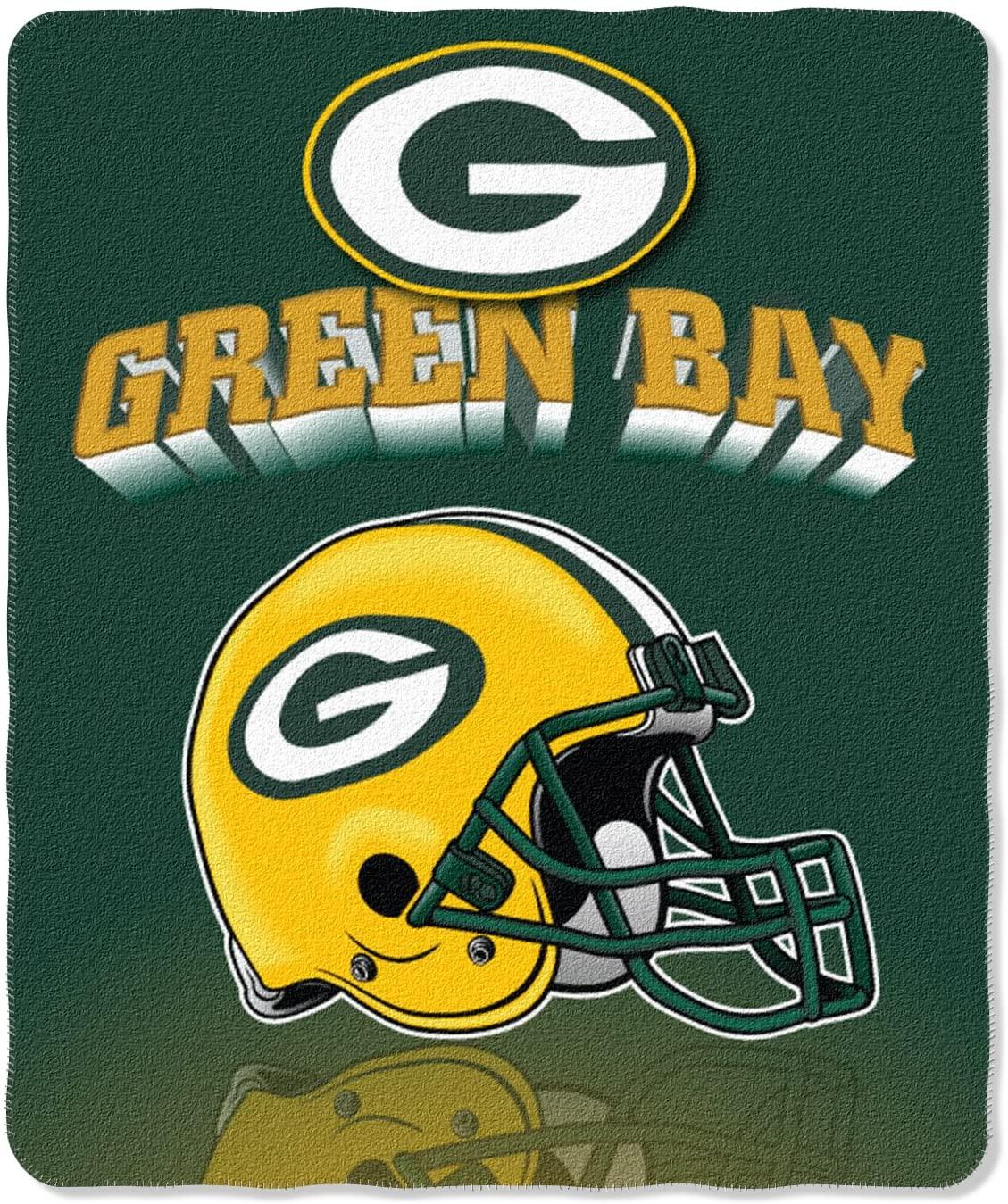 Nfl Throw Green_bay_packers Fleece Blanket