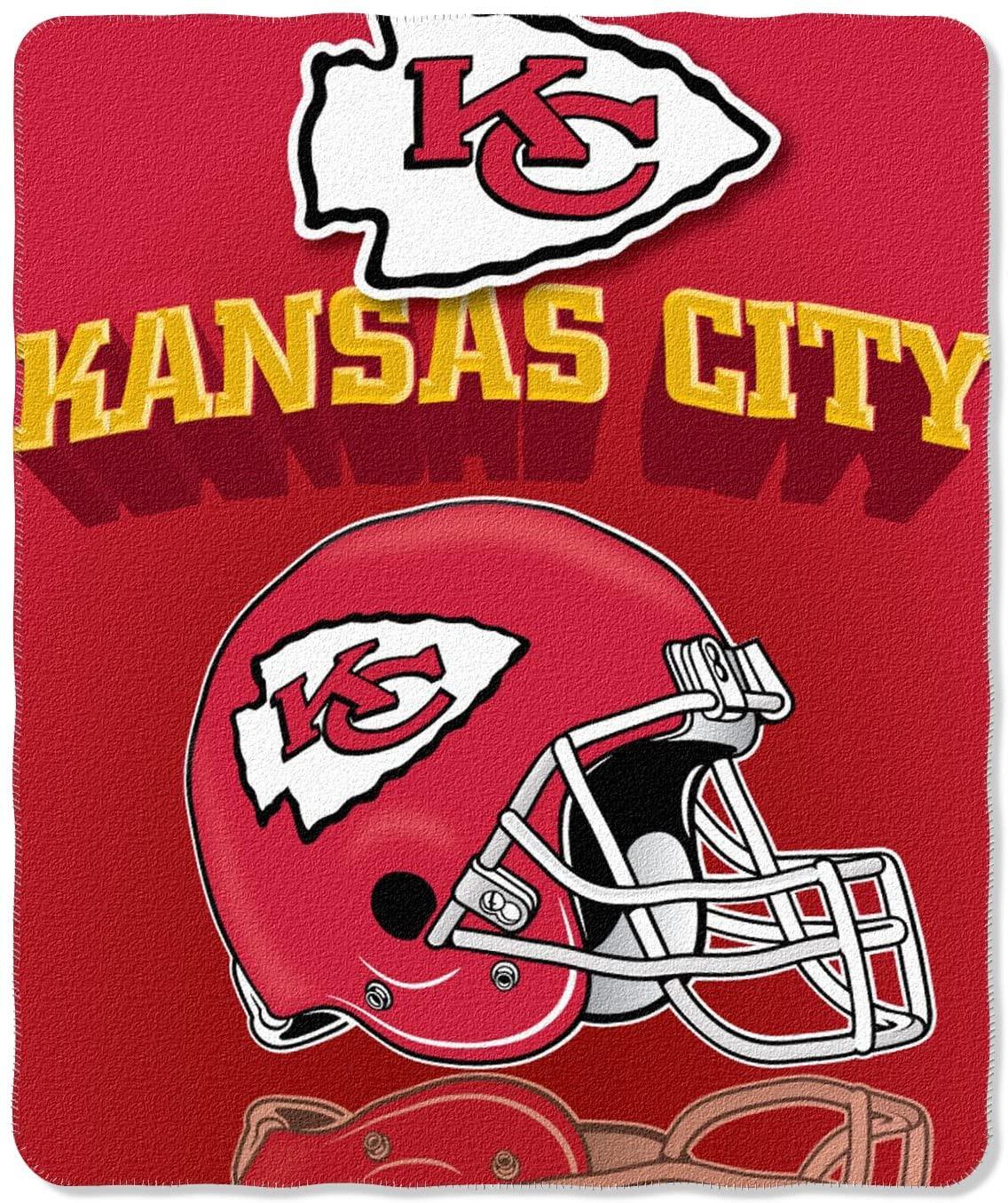 Nfl Throw Kansas City Chiefs Fleece Blanket