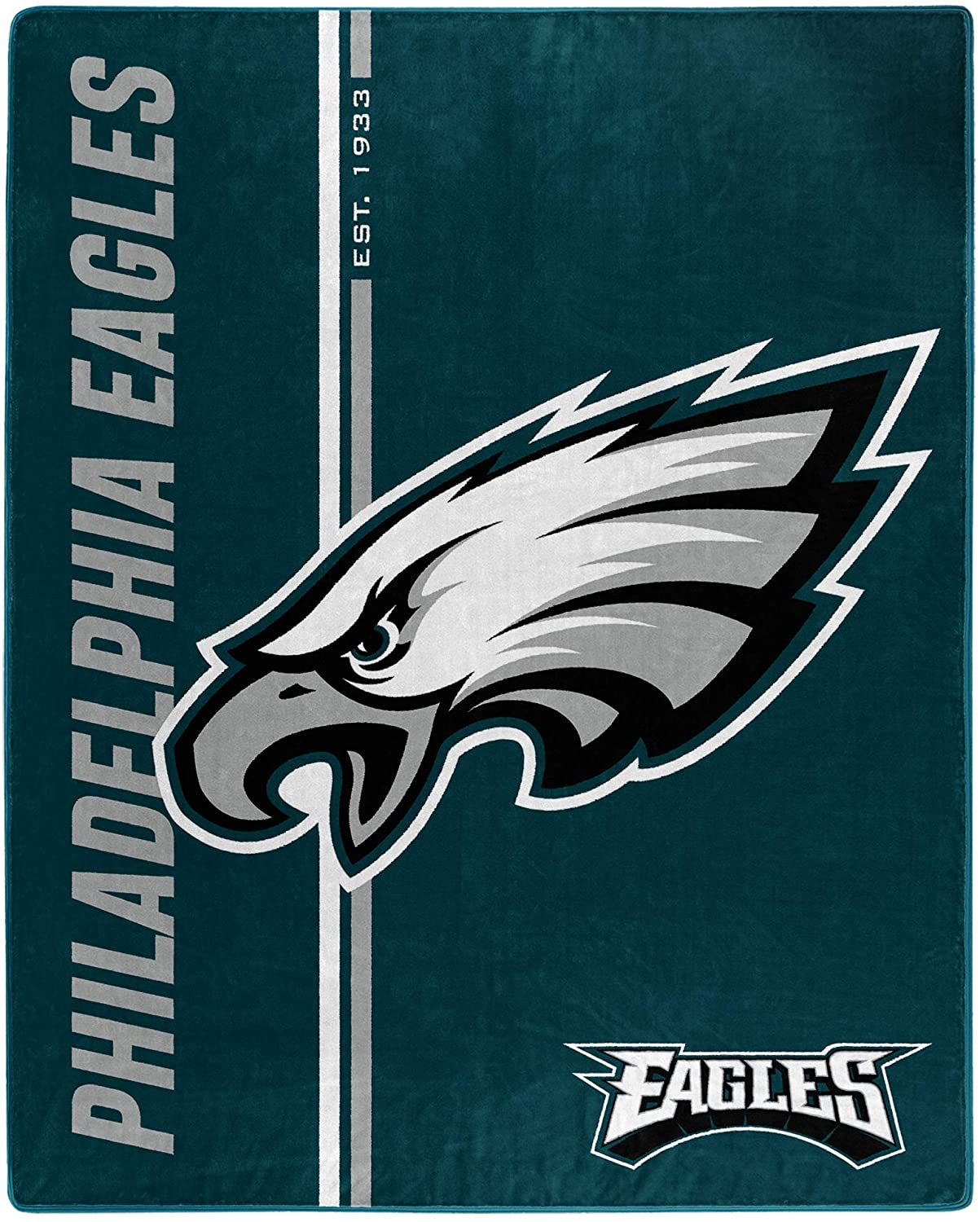 Nfl Throw Philadelphia Eagles Team Colors Fleece Blanket