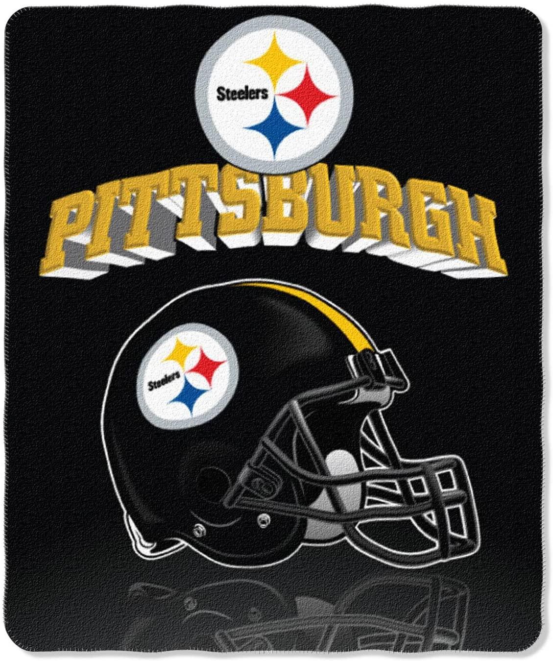 Nfl Throw Pittsburgh Steelers Fleece Blanket