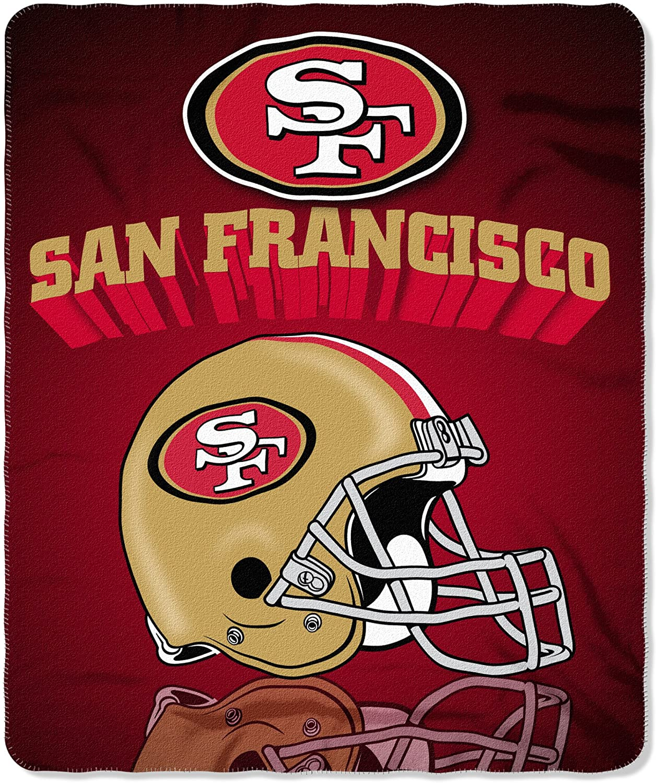 Nfl Throw San Francisco 49ers Fleece Blanket