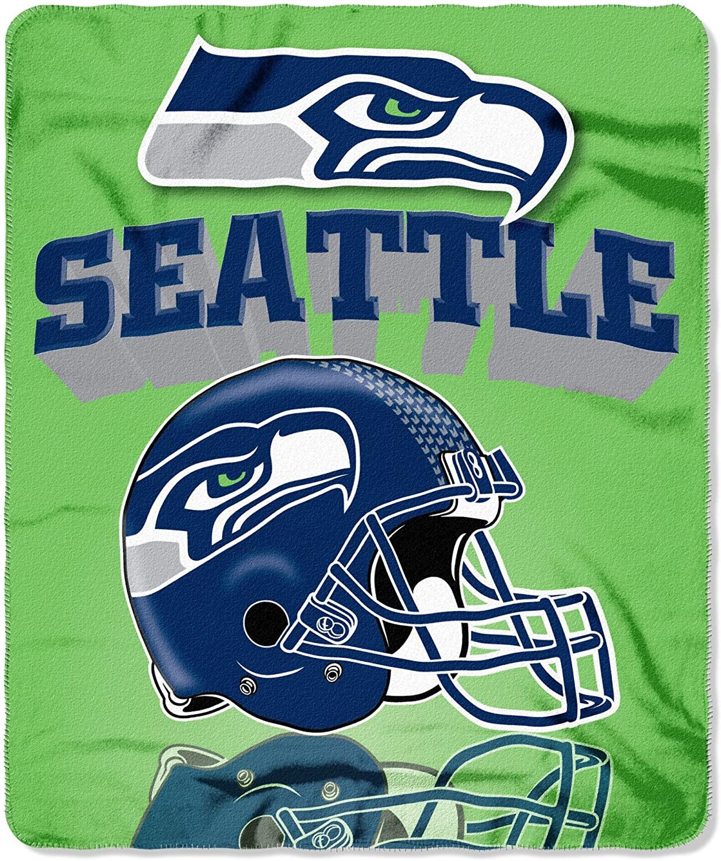 Nfl Throw Seattle Seahawks Fleece Blanket