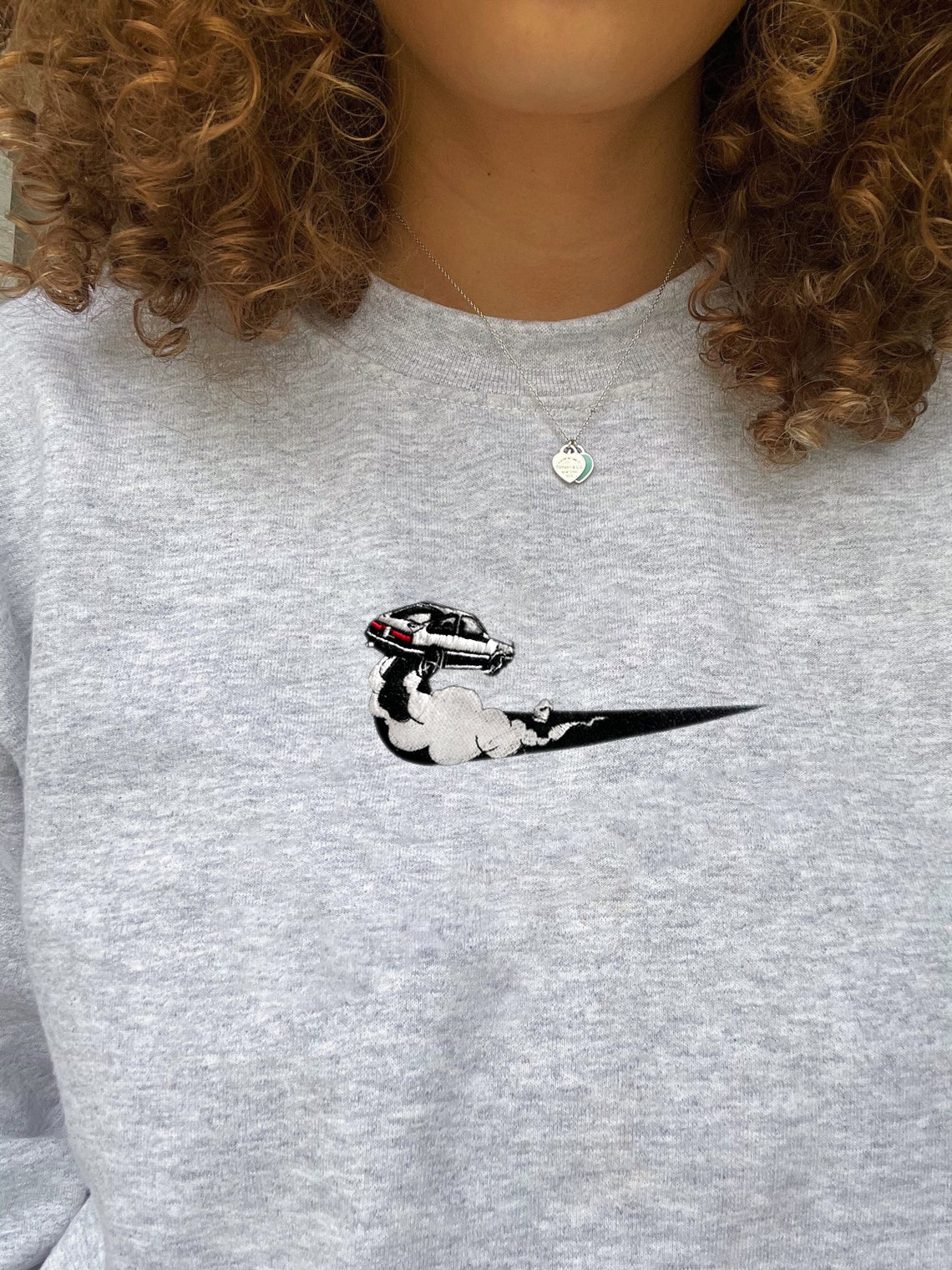 Nike And Initial D Inspired Ae86 Crewneck Sweatshirt/t-shirt/hoodie Embroidery