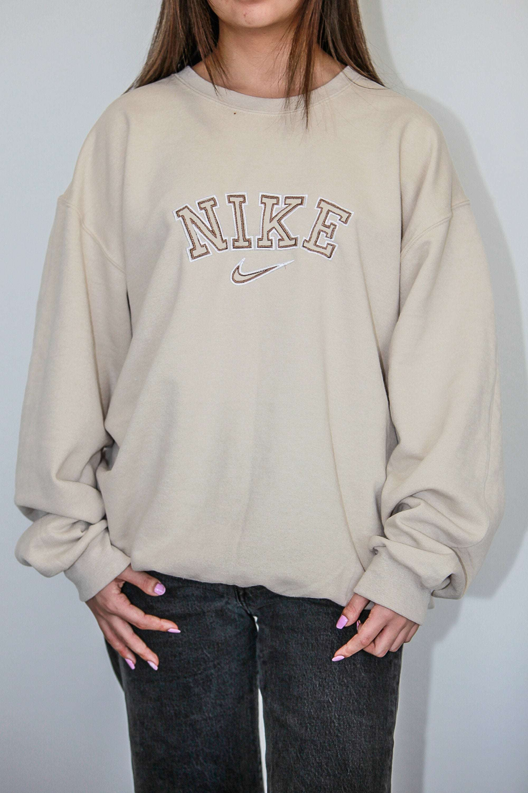 Nike Inspired Embroidered Embroidery