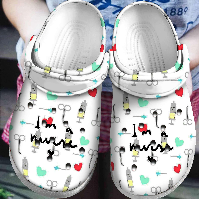 Nurse Crocs Clog Shoes