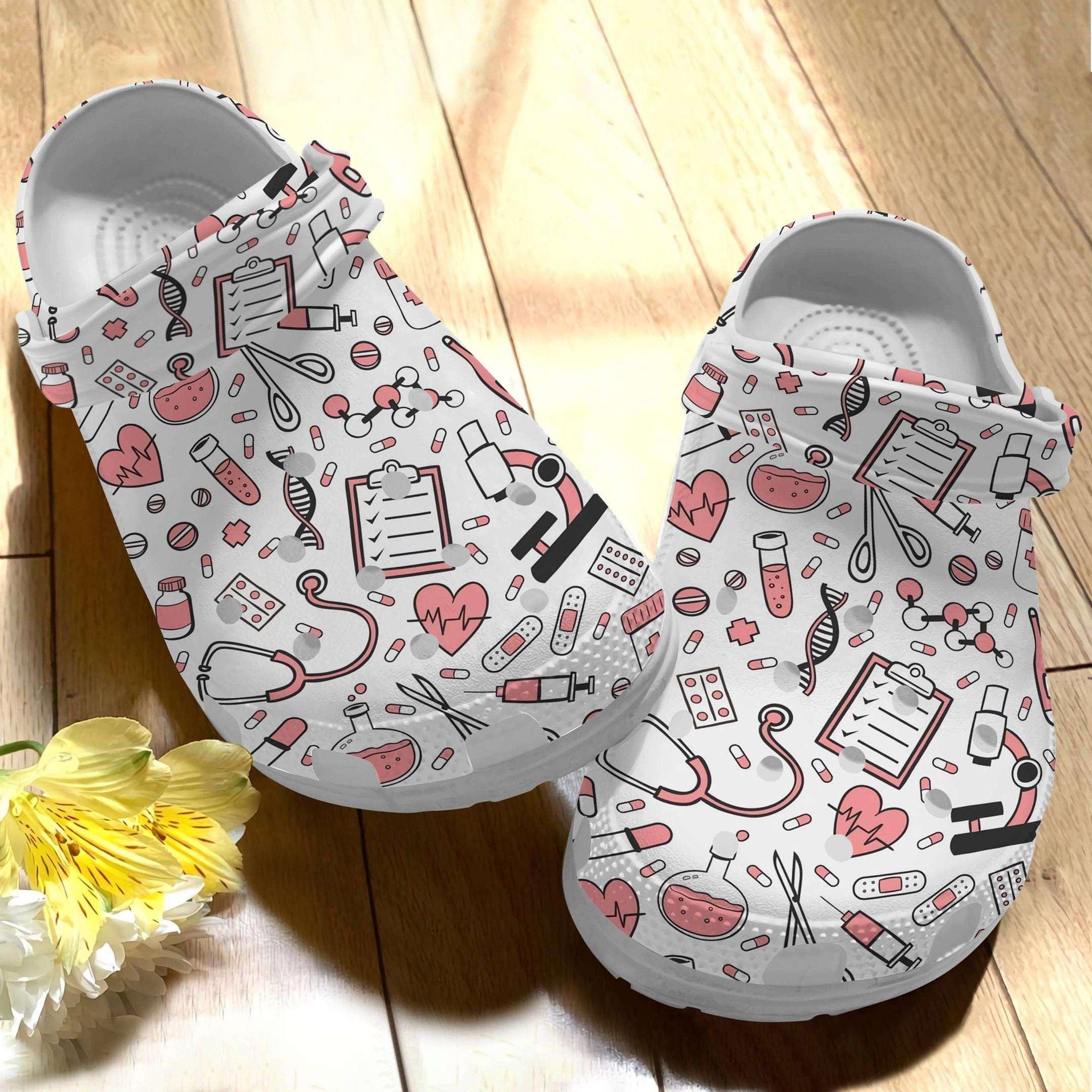 Nurse Nursing Kit Crocs Clog Shoes