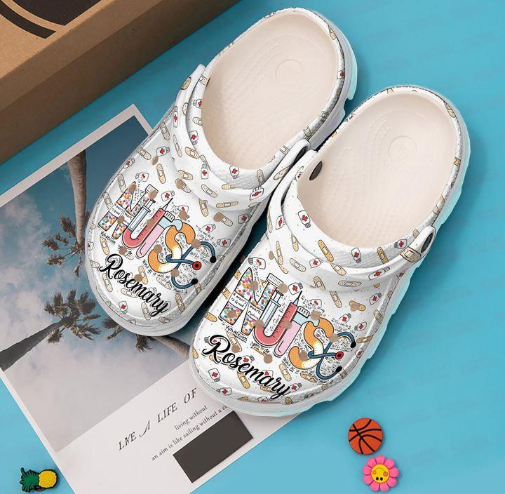 Nurse Personalized Crocs Clog Shoes