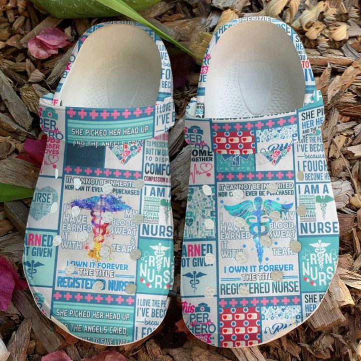 Nurse Registered Nurses Crocs Clog Shoes