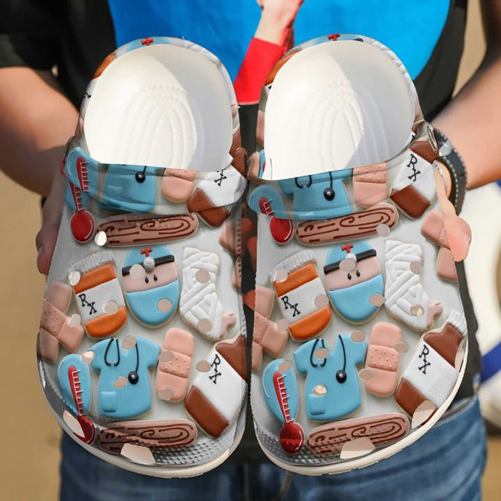 Nurse Rx Crocs Clog Shoes