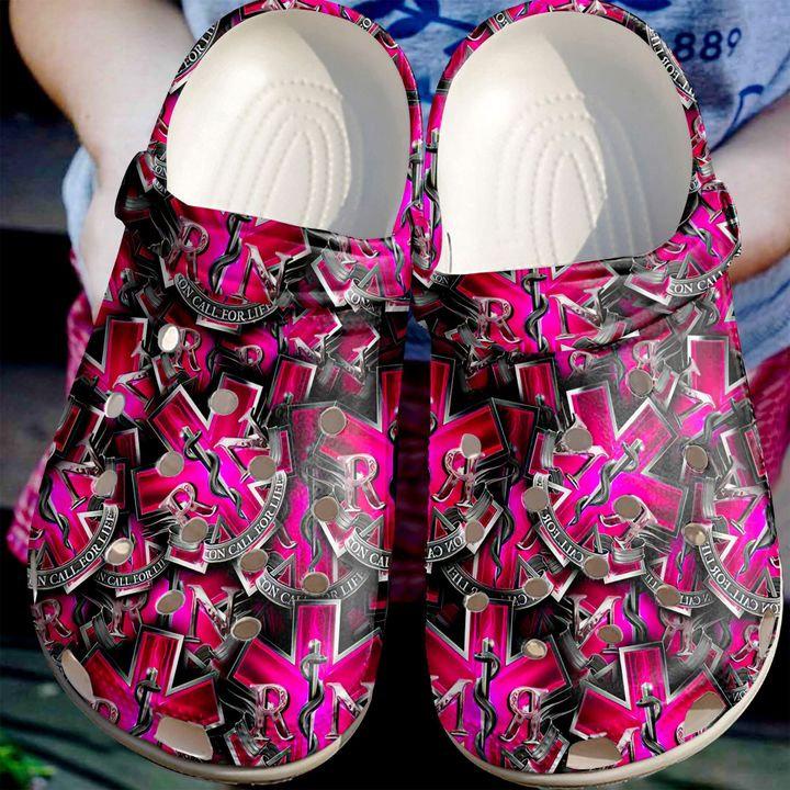 Nurse Star Of Life Crocs Clog Shoes